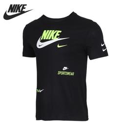 Оригинальный Новое поступление NIKE AS M NSW PACK 2 TEE 2 мужские футболки с коротким рукавом спортивная одежда
