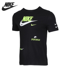 Original New Arrival NIKE AS M NSW PACK 2 TEE 2 Men's T-shirts short sleeve Spor