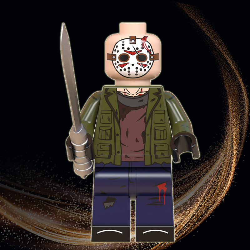 Jason Horror Halloween Legoed Jack Skellington Zombie Freddy Michael Myers Minnie Eric Draven Building Blocks Toys Gift WM843
