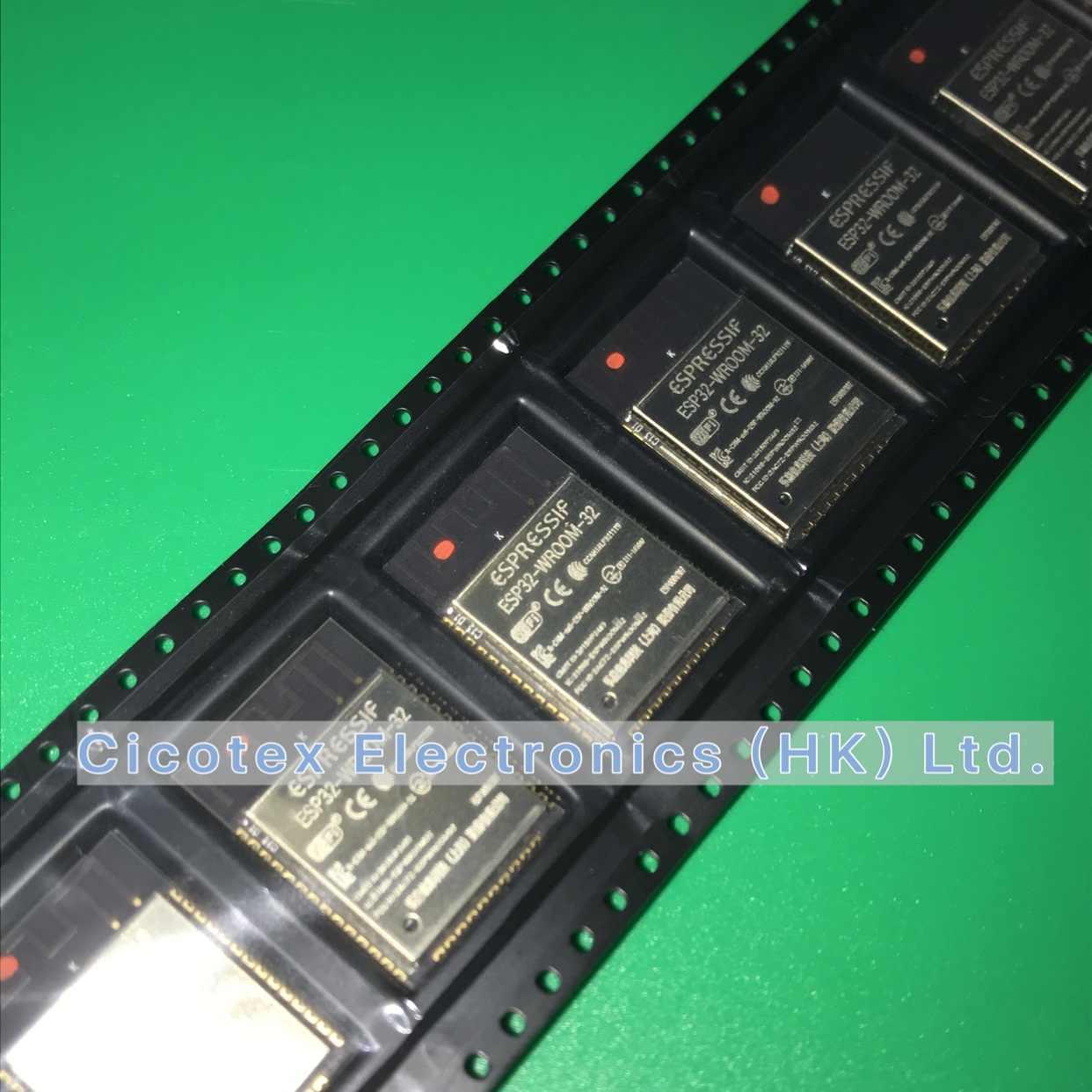 ESP32-WROOM-32 ESP-WROOM-32 ESP-32S ESP-D0WDQ6 Dual Core 32Mbits 4MB SPI flash UART Mode SMD ESP32 Module Espressif Véritable