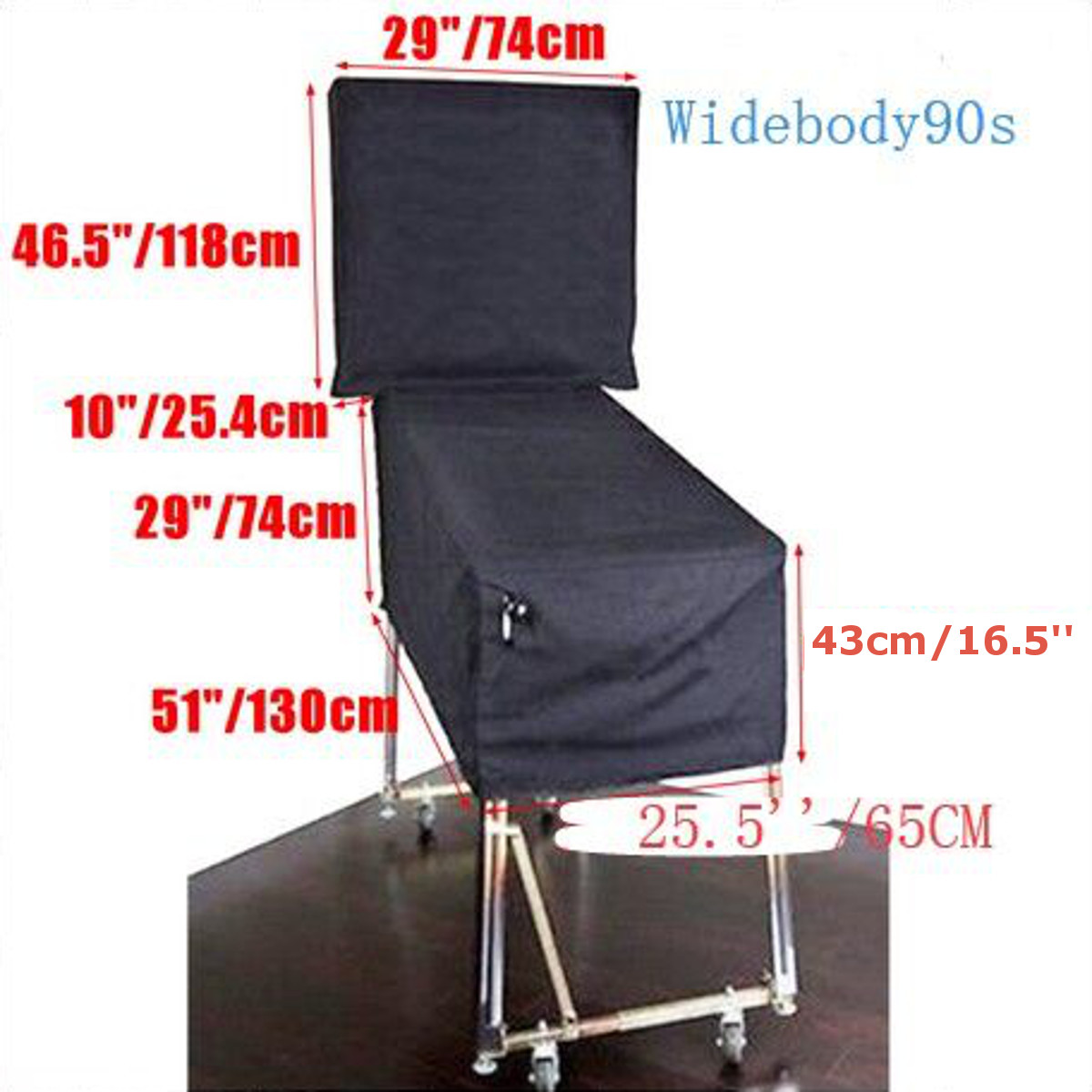 New Pinball Machine Cover Dustproof Waterproof Anti UV Outdoor For Wedgehead Gottlieb 80Bally Widebody 90/70/80s Pinball Parts