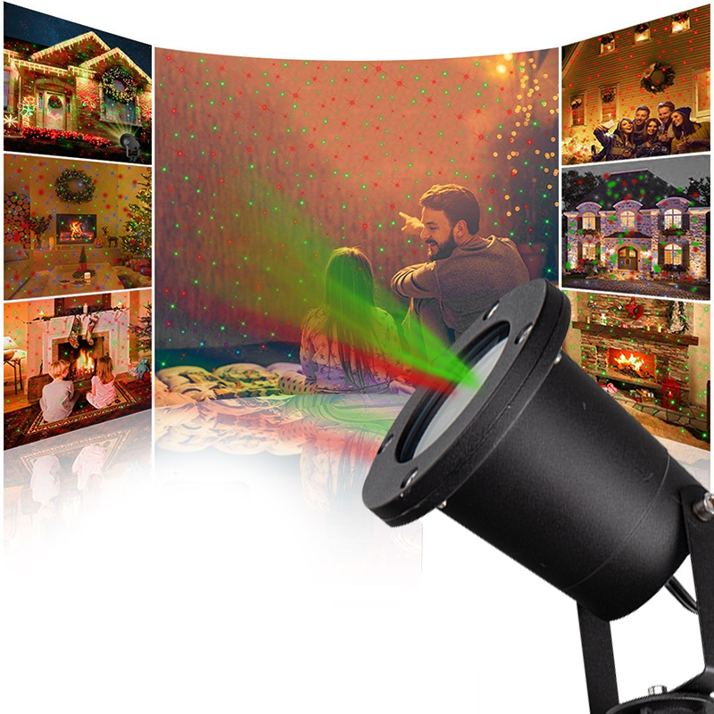 YINUO LIGHT Led Disco Light Stage Lights DJ Disco Ball Laser Projector Effect Lamp IP65 Waterproof Christmas Garden Lawn Lamp in Stage Lighting Effect from Lights Lighting
