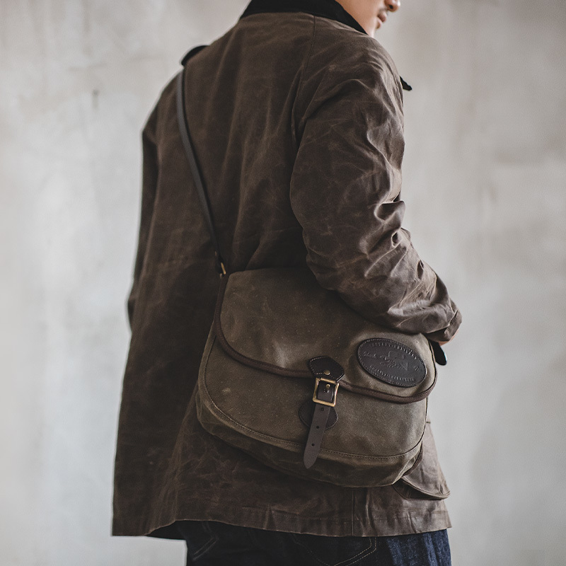 2020 New Vintage Lined Waxed Canvas Jacket Waxed Motorcycle Hunting Jacket