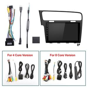 Image 5 - ISUDAR راديو السيارة VW/Volkswagen/Golf 7 ، مستقبل الشاشة ، V57S ، Android ، IPS ، GPS ، CANBUS ، DVR ، كاميرا No 2 Din