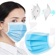 100PCS Profession Face Mask 3-layers  PM2.5 N95 Nonwoven Disposable Earloop Masks For Civil ( Send Within 5 days )