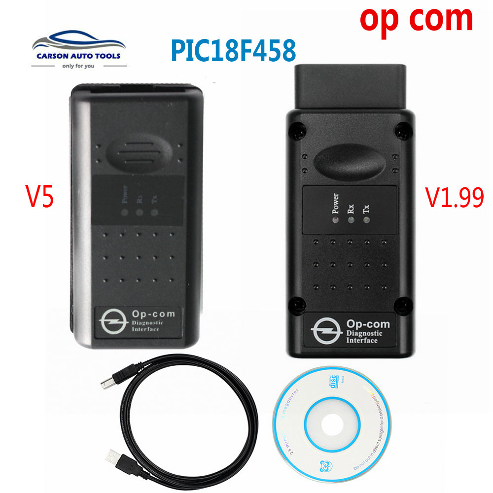 2020 Best quality OBD2 Op com V1 99  OpCom V5 Op com for opel scan tool with High Quality