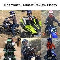 DOT Dirt Bike ATV Motocross Helmet w/ Gloves + Goggles Adult / Youth cascos para moto kask motocyklowy full face Off-Road Helmet 6
