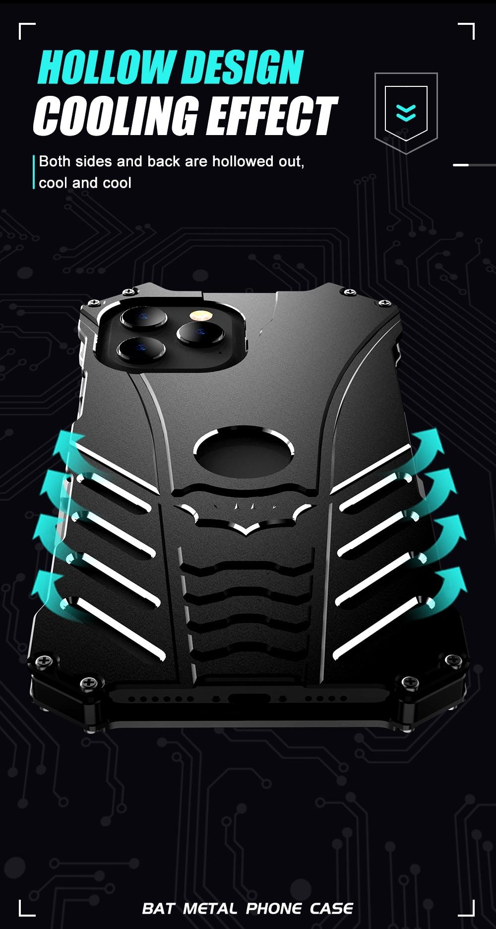 iPhone 12 Batman Aluminum phone case (6)