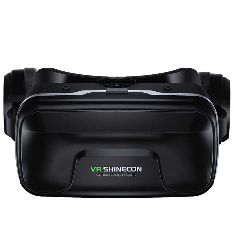 VR Shinecon 10.0 Helm 3D Kacamata Casque untuk iPhone Android Smartphone Ponsel Pintar Kacamata Game 3 D Lunette