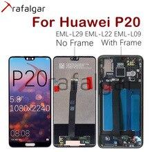 Trafalgar pantalla táctil para Huawei P20, EML, L29, L22, L09, piezas de repuesto
