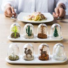 Креативная кухонная кастрюля для приправ с изображением животного