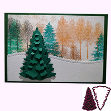 Christmas Tree Metal Cutting Dies Steel Embossing For Scrapbooking paper craft home decoration Craft