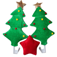 Christmas Tree Ornament Car Windows Decorative Toy Home Party Funny Decoration