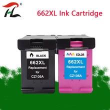 Cartucho de Tinta compatível para HP662XL 662XL 662 hp662 Para HP1015 HP1515 HP2515 Cartucho Deskjet 2545 2645 3515 3545 Printer