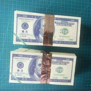 Ancestor Money Spirit Money 80 Pcs Dollar $ 100 or $ 500 Joss Paper Heaven Bank Money Feng Shui Notes Ghost Hell Pray(China)