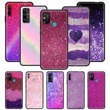 Telefon Fall für Honor 20 20Pro Lite Spielen 9a 8X 8S 9S 9X Pro 30i 10i 10 Lite x10 Max 5G 2020 Shell Coque Sparkle Glitter