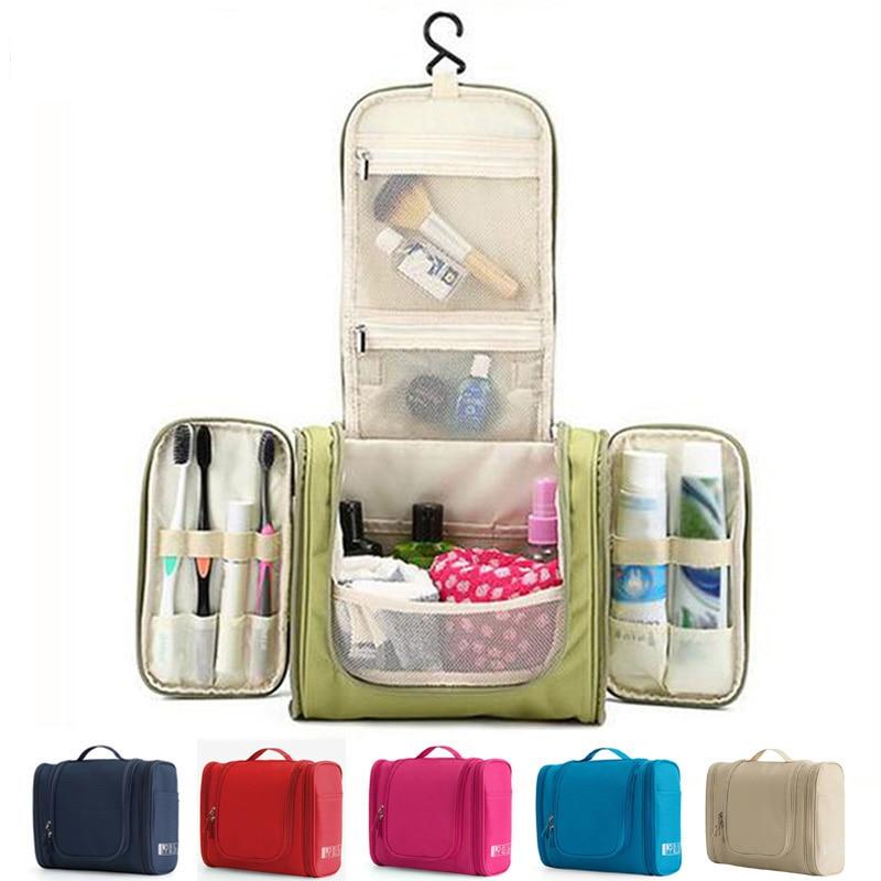 Hanging Travel Large-capacity Packaging Storage Bag Cosmetic Bag Toilet Women Wash Beauty Storage Bag Travel Cosmetic bag