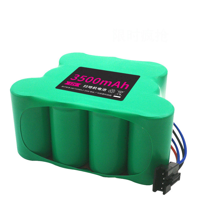רובוטית שואב אבק Ni MH סוללה חזרה עבור ecovacs deebot CEN82 800 810 830 שואב אבק החייבת סוללה חלקי