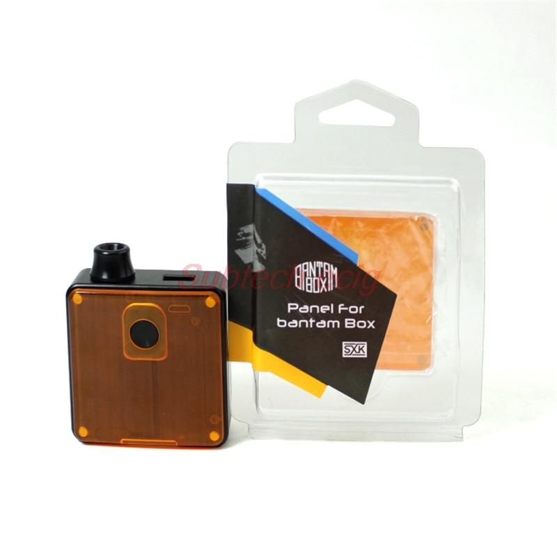 Free Shipping SXK PEI Acrylic Panel For Bantam Box BB Mini Mod Vapeshell PEI Panels 18350 BB Mini Vape Billet Box V4