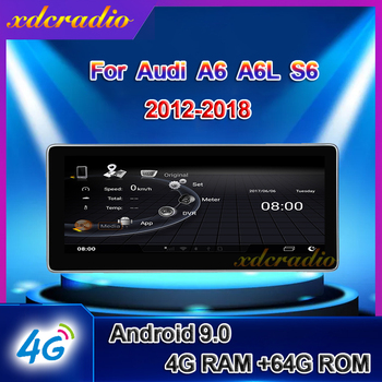 Xdcradio 10.25 Android 9.0 For Audi A6 A6L S6 Car Radio Automotivo Car Multimedia Player Auto GPS Navigation Stereo 2012 - 2018 image