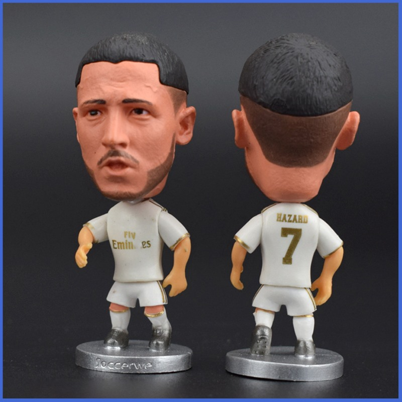 Football Star Hazard Resin Doll Action Figure 6.5 Cm Mini Toy Collectible Gift