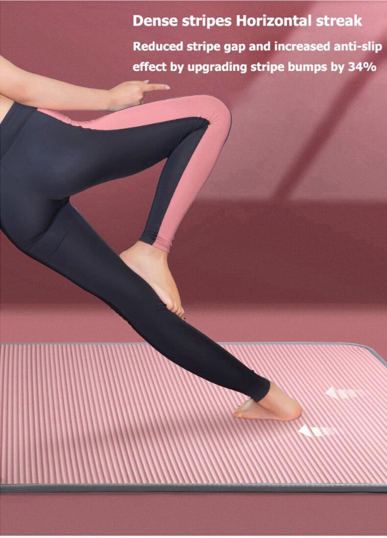 10mm 15mm esteira de yoga nrb tapetes