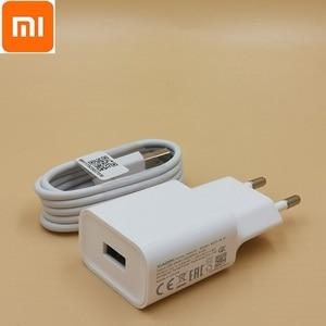 original mi8 charger QC3.0 quick 12v 1.5a 9v 2a EU wall fast charge adapter typec cable for mi 8 se 8 6 mix 3 2s 2 max 3 a2 a1