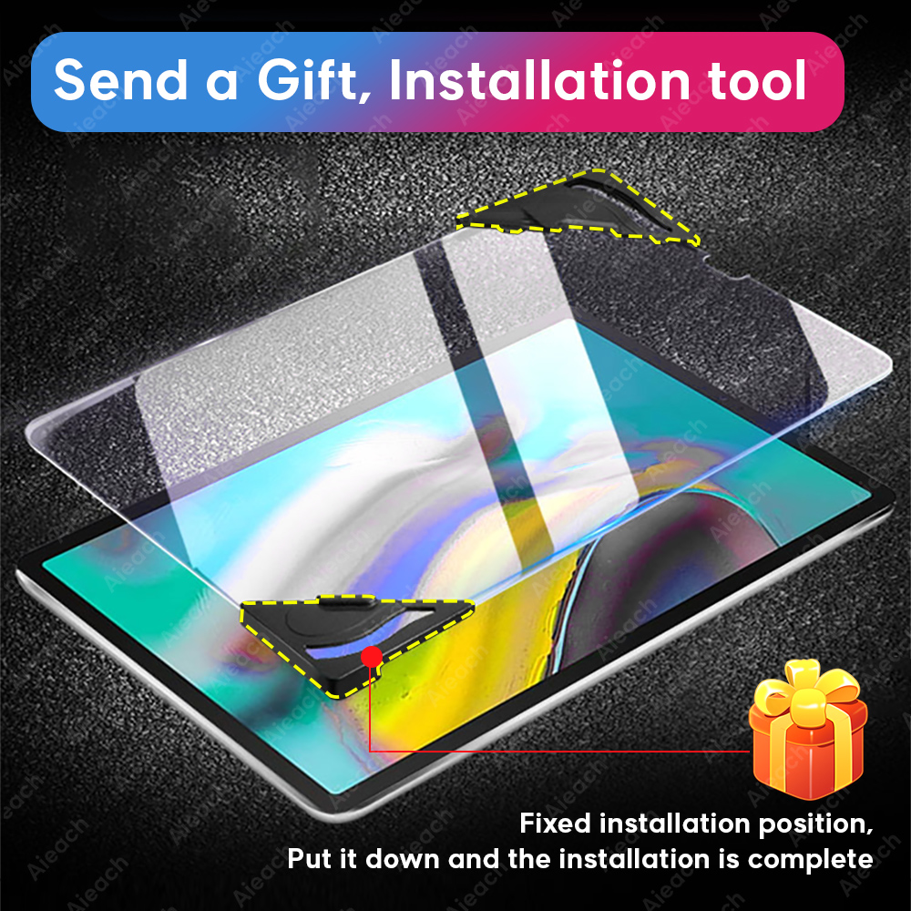 15D Protective Glass For Samsung Galaxy Tab S5e S6 Lite 10.4 S7 Screen Protector For Samsung Tab S4 S3 S2 E 9.6 Tempered Glass-5