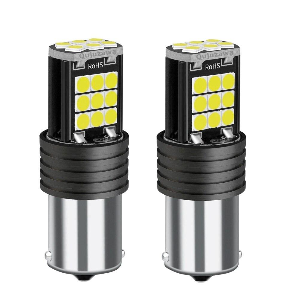 2 шт. Новый 1156 BA15s 7506 P21W R10W R5W 3030 светодиодный задний стоп-сигнал, лампы для указателей поворота, лампа заднего хода, белый, красный, желтый