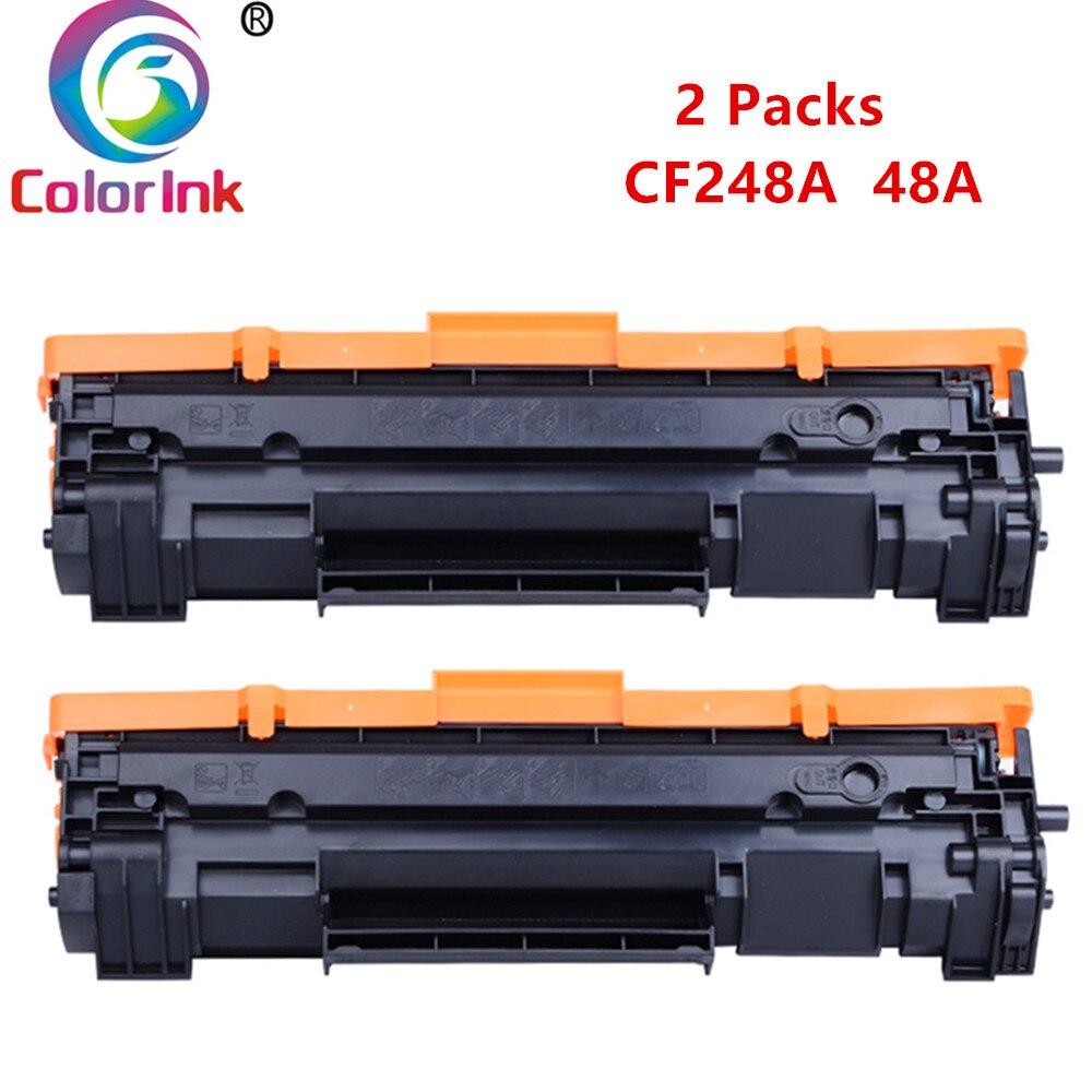 4PK CF248A 48A Toner Cartridge For HP LaserJet Pro M15W M15A MFP M28W M29W M29A
