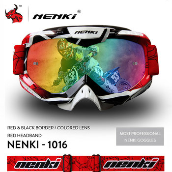 NENKI Motocross Glasses Moto Men Women Motorcycle Helmet Off-Road Goggles ATV MX BMX DH MTB Eyewear