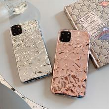 3D Dream Shell Plating Silver Gold Foil Phone Case for