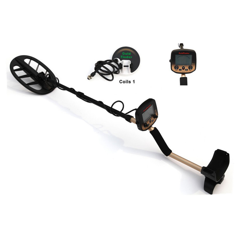 Metal Detector Underground Gold Finder FS2 Treasure Hunter LCD with Low Battery Indication Wiring Probing 5