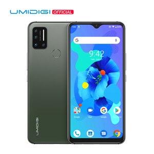 UMIDIGI A7 глобальная версия Android 10 4 Гб 64 Гб 6,49 ''большой полноэкранный четырехъядерный процессор 4150 мАч 4G смартфон