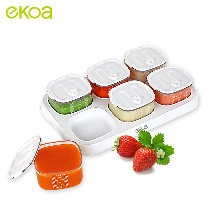 Baby Solid Food Storage Box Milk Powder Bottle Feeding Dishes Store Plate Container Bowl formula 1 Dispenser Snack Accessories