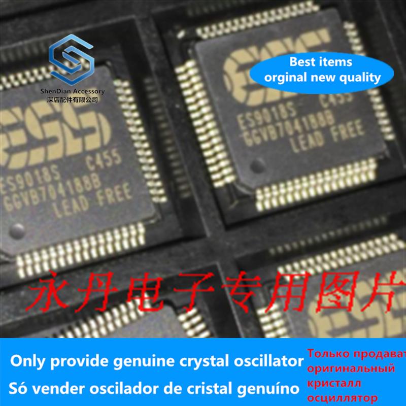 1-5pcs 100% Orginal ES9018S QFP Audio Chip Free Shipping