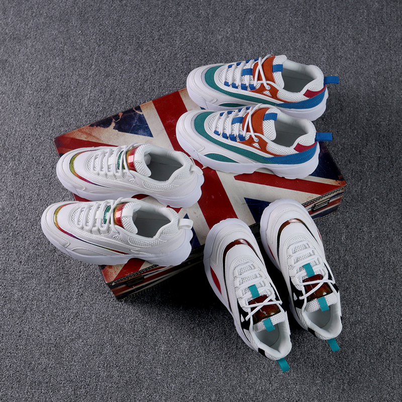 Original Women Running Shoes Sneaker Disruptor 2 White Sneakers Cushioning Platform Lightweight Training Sports Triple-S Walking