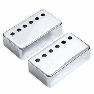 2x накладки на шею и мост для гитары, хромированные высококачественные