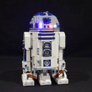 Led Light Set Compatible For lego 10225 star wars R2-D2 Robot 05043 Building Blocks Bricks Toys Gifts (only light+Battery box) image