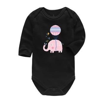 Baby Boy Girl Clothes 0-24 Months Newborn Toddler Infant Long Sleeve Cartoon Print Baby Romper newborn baby girl romper long sleeve baby rompers winter baby girls clothes toddler girl romper infant jumpsuit 3pcs set d30
