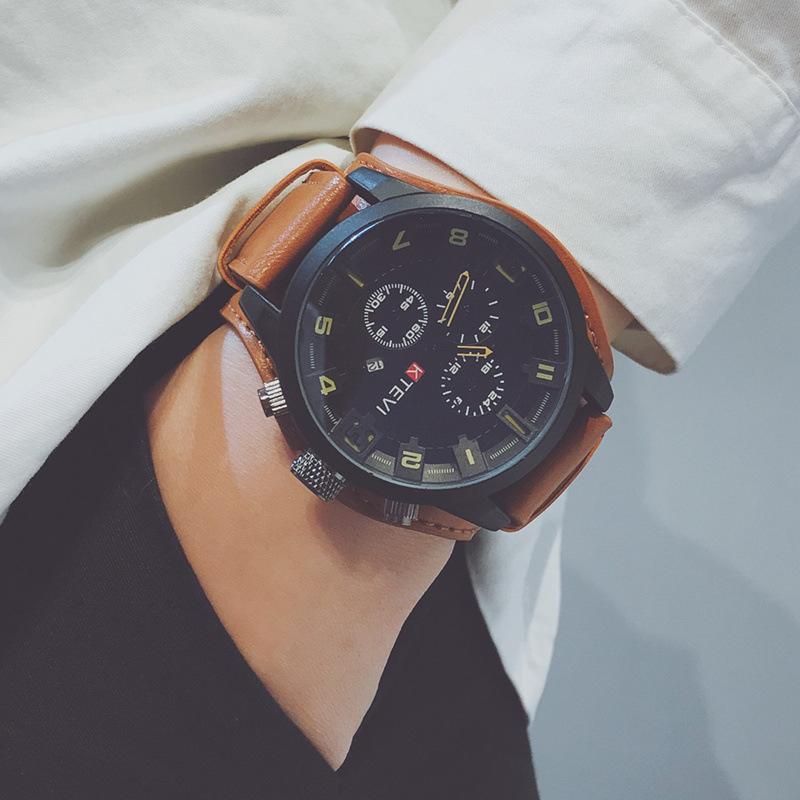 Sports Watch Clock Korean Men Male Commando Personality Shock 2020 Not Police Shake Voice Large Dial Is Oversized Trend