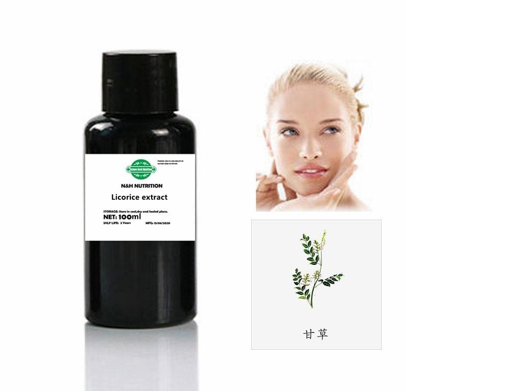 Экстракт лакрицы подавляет меланин и повышает прозрачность кожи и иммунитет.