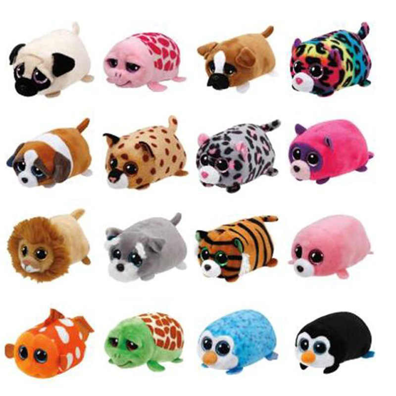 Ty Pluche Dier Speelgoed Hond Koala Leopard Tiger Dragon Screen Schoon Pop