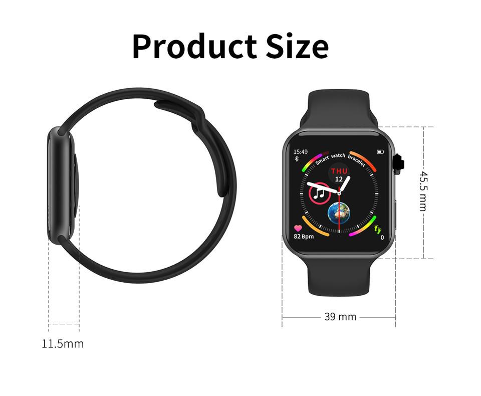 F10 Fitness Tracker ECG pulsera smartwatch 13