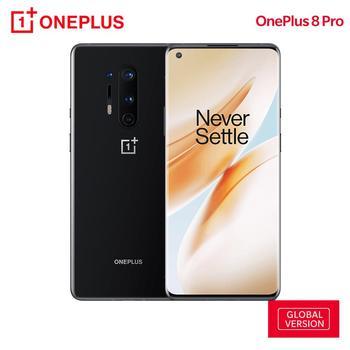 Купить Смартфон OnePlus 8 Pro, глобальная версия, 8 Гб 128 ГБ, Snapdragon 865, 6,78 дюйма, 120 Гц, жидкокристаллический AMOLED дисплей 3168x1440, 4510 мАч, 30 Вт, NFC