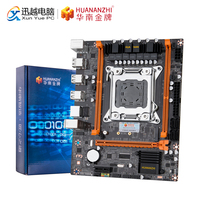 Huananzhi placa mãe X79-4M rev2.0 intel  lga 2011 e5 ecc/reg ddr3 1333/1600/1866mhz 32gb m.2 usb2.0 M-ATX mainboard