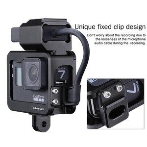 Image 4 - Ulanzi V3 Pro Vlog Metal Case Cage for Gopro Hero 7 6 5 Original Microphone Battery Adapter for Gopro