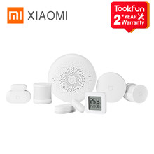 Global Version Xiaomi Mijia Mi Smart Sensor Set Multimode Gateway Wireless Switch Human Door And Window Sensor Bluetooth Mesh