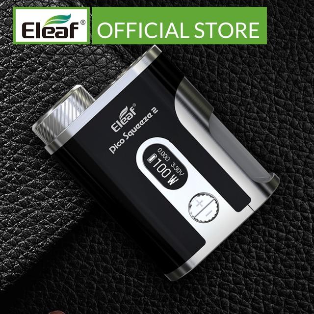 Original 100W Eleaf Mod box Pico Squeeze 2 mod with 8ml Bottle box mod electronic cigarette mod box