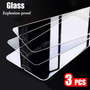 3Pcs Tempered Protective Glass on the For iPhone 11 Pro XR X XS Max Screen Protector Film For iPhone 7 6 8 6s Plus SE 2020 Glass
